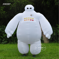 Halloween Inflatable Costume Big Hero 6 Baymax Party Cosplay Costume For Men Adult Inflatable Clothing Baymax