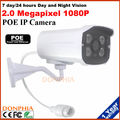 1080P Bullet Outdoor Security Camera Poe IP Camera power over enternet Night Vision waterproof outdoor Support Remote View phone