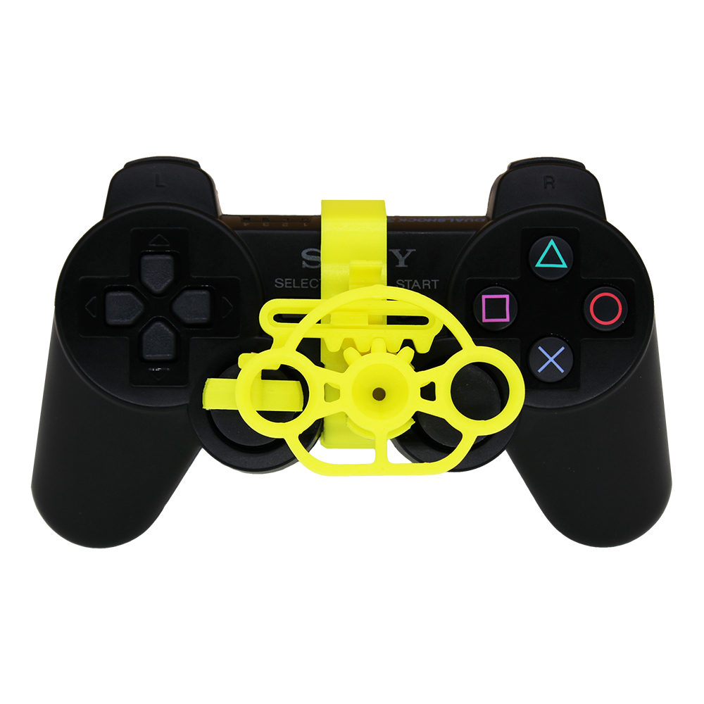 Image 2 - PS3 Gaming Racing Wheel, 3D printed mini steering wheel add on for the PlayStation 3 controller-in Replacement Parts & Accessories from Consumer Electronics