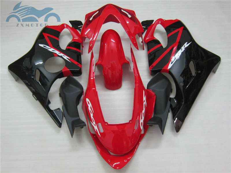 Injection ABS fairings for <font><b>HONDA</b></font> CBR 600 F4i 04 05 06 07 black red fairing CBR600F <font><b>CBR600F4I</b></font> 2004-2007 body repair <font><b>parts</b></font> SZ1 image