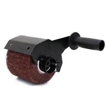 Angle Grinder Attachment Burnishing Polishing Machine Grinders Accessories Burnishing Wheel Handle Metal Steel Wood Sander