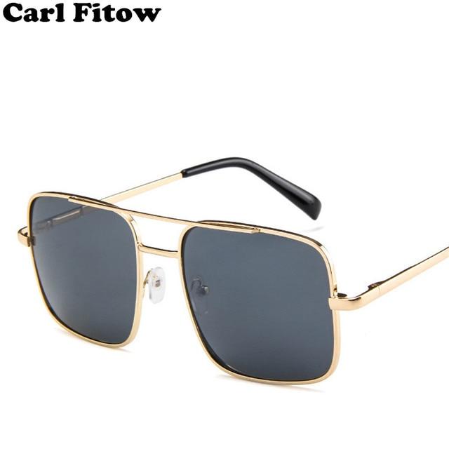 170e4d3ea2f Fashion Square 2018 Sunglasses Men Oversize Driving Cool Sun Glasses Male Retro  Vintage Gafas Oversized Shades Female Eyewear