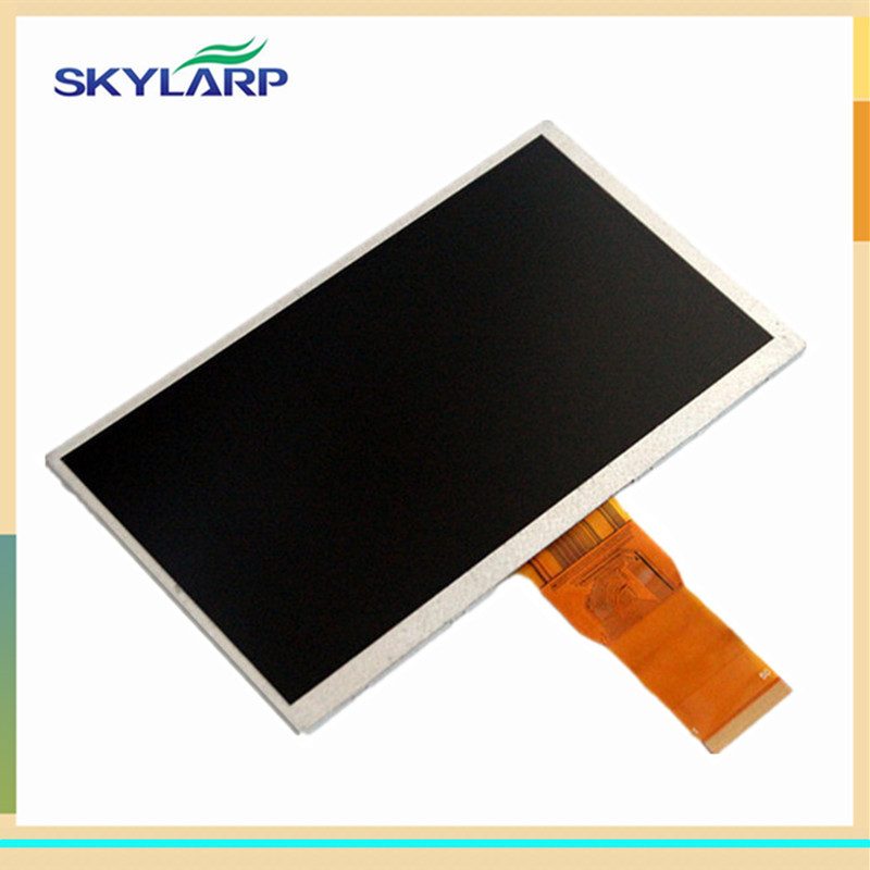 skylarpu 7 inch Screen 50 Pins for T7650B-D T7650B-E Tablet PC LCD screen display panel glass Free shipping (without touch) for asus padfone mini 7 inch tablet pc lcd display screen panel touch screen digitizer replacement parts free shipping