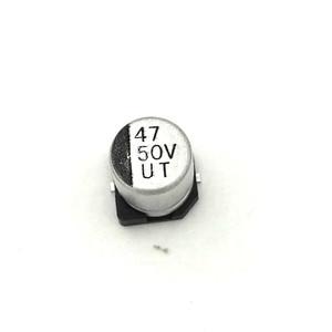 Image 5 - MCIGICM 1000pcs 47UF 50V 6.3mm*7.7mm SMD electrolytic capacitor