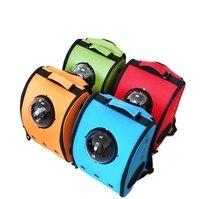 Puppy rabbit space bag cat carrier astronaut backpack puppy bubble pet travel bag space capsule transport box