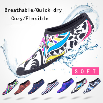 Oddychające wygodne skarpetki do snorkelingu szybkie suche buty do nurkowania antypoślizgowe skarpety do nurkowania sporty wodne skarpetki plażowe płetwy elastyczne tanie i dobre opinie Sbart RUBBER Dla dorosłych