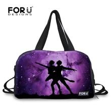 2016 leinwand frauen taschen mode 3d galaxy universe frauen reise seesack gepäck faltung taschen bolsos mujer de marca famosa