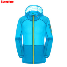 Dropshipping Sports Camping Fishing Thin Quick Dry Jacket Unisex Lightweight Coat Windproof Breawthable women summer windbreaker