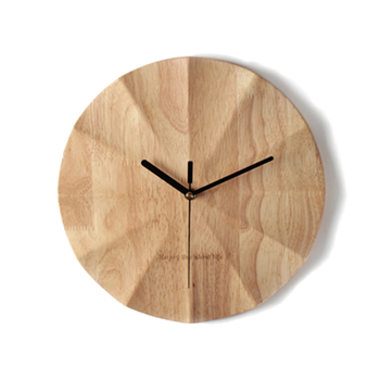 Wooden Large Modern Wall Watch Quartz Wood Silent Kids Nordic Diy Retro Kitchen Home Big Retro Large Home Big Wall Clock LKP429