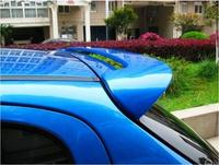 PAINT ABS CAR REAR WING TRUNK LIP SPOILER FOR Peugeot 206 / 207 2008 2009 2010 2011 2012 2013 BY EMS