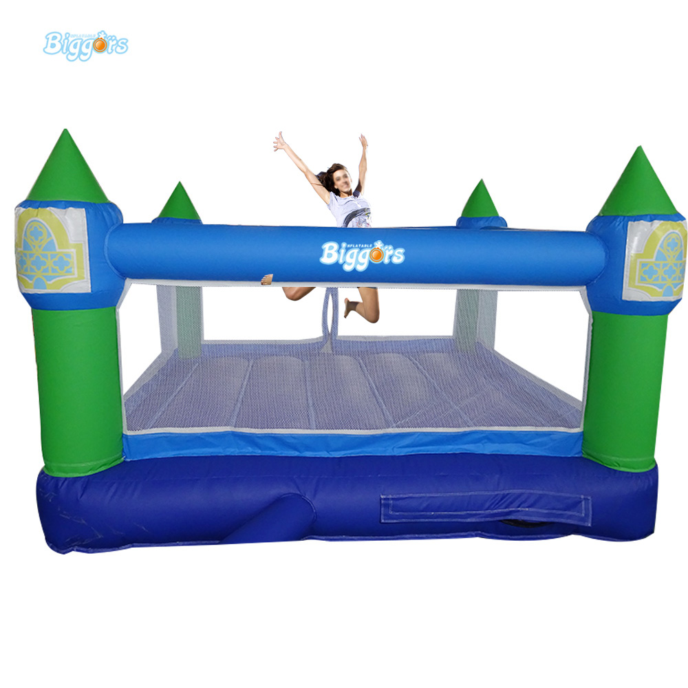 Happy Small Inflatable Jumping Bouncer Castle for Commercial Use commercial inflatable bouncer jumping bounce house inflatable trampoline with slide for party