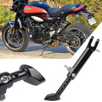 Z900 RS Black CNC Aluminum Adjustable Kickstand Side Stand for Kawasaki Z900RS 2018 2019 Sidestand Motorcycle Accessories