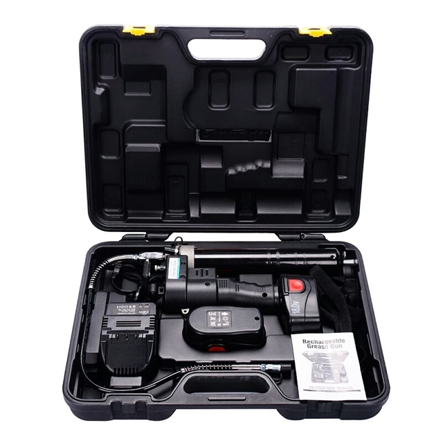 Electric Grease Gun >> Us 171 0 5 Off 18v 400ml Electric Cordless Protable Grease Gun Lubricant Oil Add Tools Rechargeable Battery Grease Oil Tool Machine Helper In