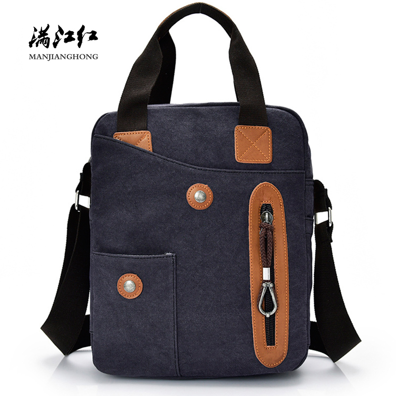 Fashion Printed Small Canvas Messenger Bag Men Patchwork Leather Handbag Male Shoulder Bag Casual Crossbody Bags For Men Satchel men s crossbody bags casual canvas bag leather satchel purse high quality vintage brand male small shoulder messenger bags