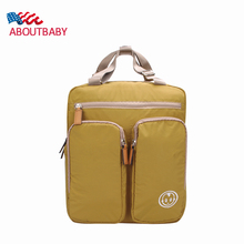 Diaper Bags Backpack 2016 New Large Capacity High Quality Waterproof Baby Nappy Changing Bags Backpack Simple Baby Stroller Bag