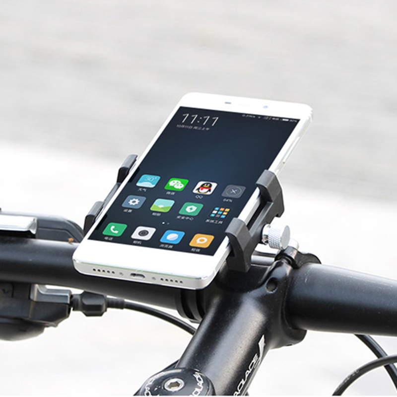 GUB Upgraded MTB Bicycle Phone Holder Mount Holder For 3.5-6.2inch Smartphone Bike Handlebar Stem Stand for Huawei,iPhone 8 X