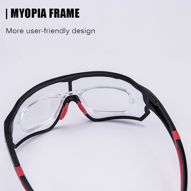 Rockbros photochromic óculos de bicicleta uv400 esportes óculos de sol para homens mulher anti brilho leve caminhadas ciclismo 3