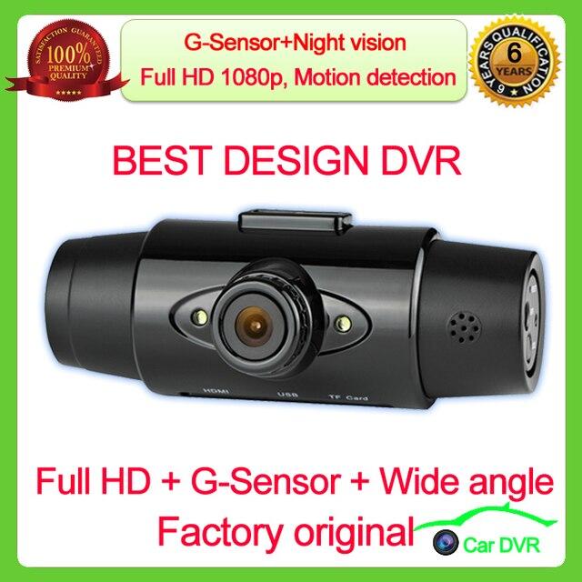 2014new on market G8000 Full HD 1920x1080P Car Camera Recorder 1.5 inch LCD G-Sensor HDMI IR Night Vision Car DVR  Free Shipping