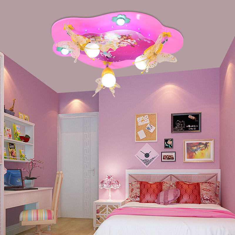 Creative led ceiling lights warm bedroom lamps princess room lamps creative led ceiling lights warm bedroom lamps princess room lamps children room lights snow white and butterfly led lights in ceiling lights from lights mozeypictures Image collections