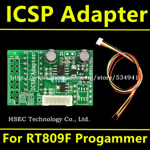 Image 5 - Original RT809H+CD software+ ICSP+ISP EMMC Nand NOR FLASH Extremely Universal Programmer better than RT809F CH341A programmer