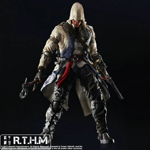 Play Arts Kai Assassin's Creed III Conner Action Figure