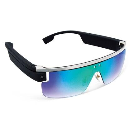 2017 новая мода Bluetooth беспроводной видео-очки очки поддержка голосового управления, сенсорного управления приложение для мобильного телефона