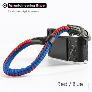Image 5 - Mountaineering Nylon Rope Camera Wrist Hand Strap Belt for Mirrorless Digital Camera Leica Canon Nikon Olympus Pentax Sony