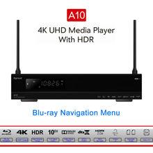 Egreat A10 4K UHD Media Player Hi3798CV200 2G/16G support AC WIFI Gigabit LAN HDR10 Blu-ra