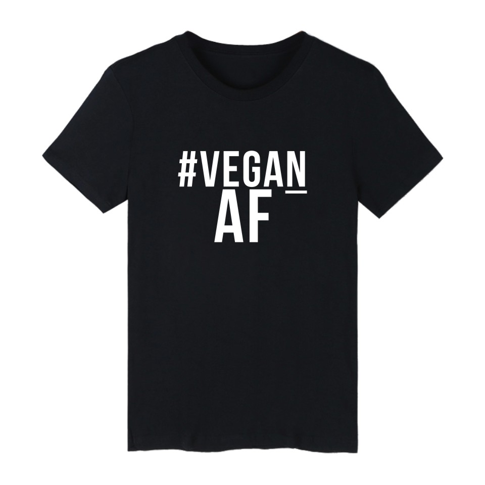 Meaningful Pattern T shirt Promote To Be Vegan Printed Powered By Plants Summer Mens Tshirt Interesting Clothes Short Sleeve tee