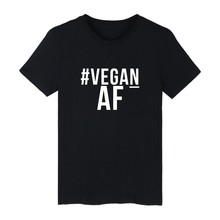 #Vegan AF / Powered by Plants / Easy to be Vegan t-shirts / 4 colors