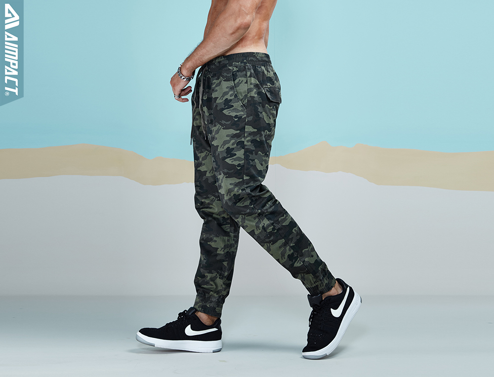 Aimpact 2018 New Men's Casual Camo Pants Cotton Chino Jogger Pant Man Fitted Trace Twill Pants Male Camouflage Trousers AM5012 (22)