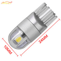 Modify.Era 100PCS Car lamp White T10 194 168 2825 W5W LED Bulbs For License Plate Lights,Parking Position Lights,Interior Lights