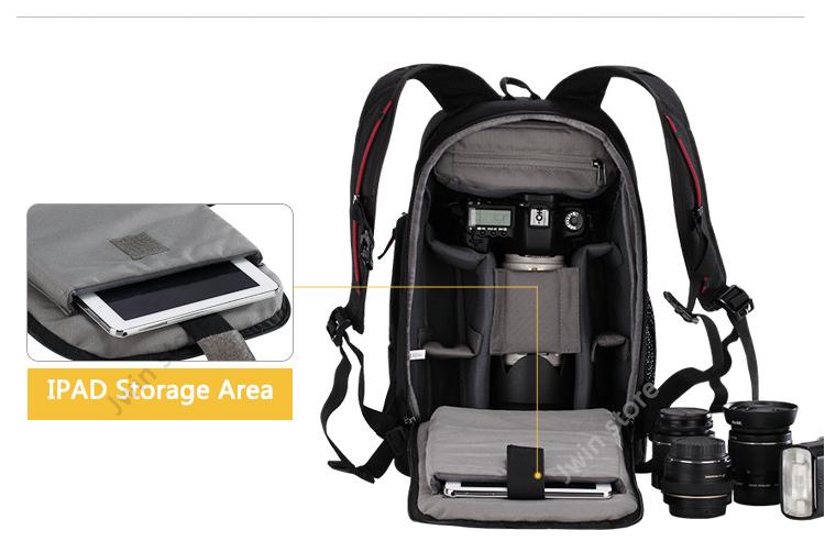 CADeN Professional Travel Waterproof Fashion Camera Backpack Photo tas Digital Camera Bag Case for Dslr Sony Canon Nikon K6K7 9