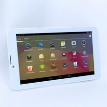 7 pulgadas llamada de Teléfono GSM SIM tablet PC MTK6572 1024*600 3G GPS SIM Dual cameras Desbloqueado Bluetooth con La Linterna