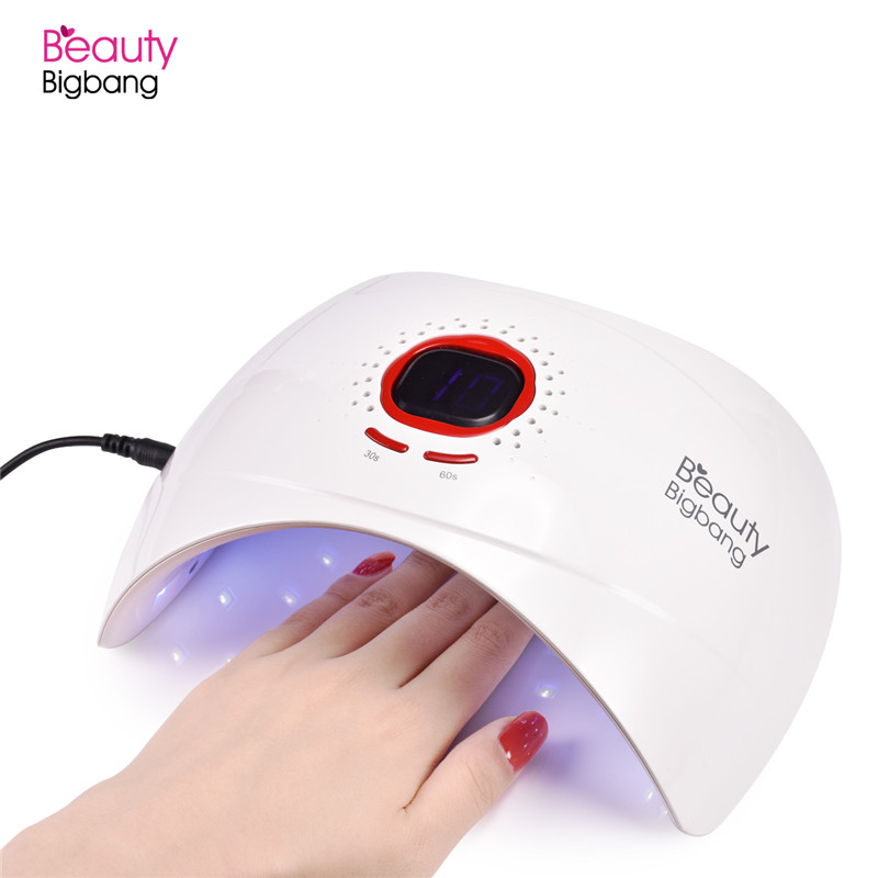 BeautyBigBang 36W UV Lamp LED Nail lamp Dryer 18 LEDs Nail dryer for All Gels Polish with 30/60/99s Timer LCD Display Nail Lamp beautybigbang 36w uv lamp led nail lamp dryer 18 leds nail dryer for all gels polish with 30 60 99s timer lcd display nail lamp