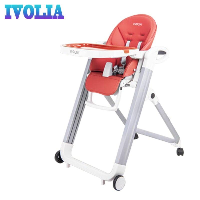 IVOLIA 2019 baby chair high chair baby feeding chair happy baby masa sandalye