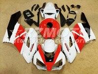ACE KITS New ABS Injection Fairings Kit Fit For HONDA CBR1000RR 2004 2005 CBR1000RR 04 05 Black White Red F93
