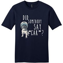 Clothing Tops Hipster Fashion Crew Neck Short Personald French Bulldog Gifts Did Somebody Say Car Christmas  Tall Mens T Shirt