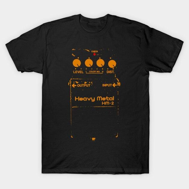 ee95522a4 Chainsaw Guitar Pedal (Boss HM 2) Guit Men's T Shirts Tee Plus Size ...