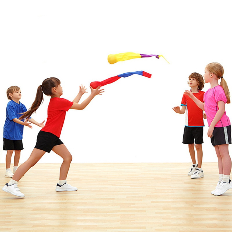 Children's Indoore Outdoor Early Sports Education Actice Sense Tool Kids Toy Safety Throw Sandbag Game Throwing Toys