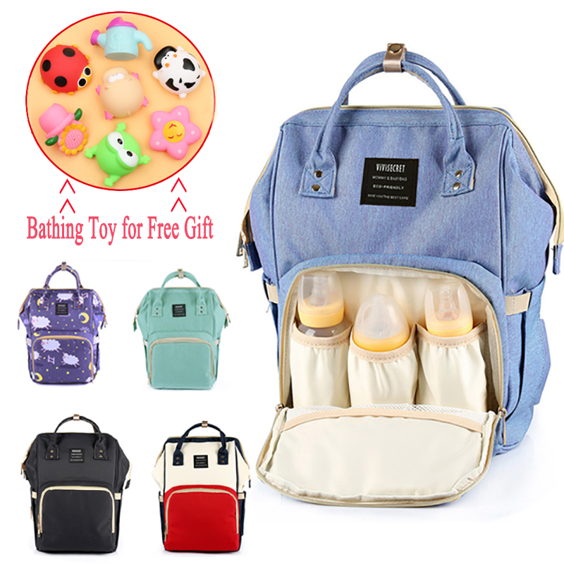 Baby Diaper Bags Backpack Mummy Maternity Nappy Bag Travel Large Capacity Nursing Bag for Mom bolsa maternidade & Free Gift -48 maternity backpack nappy diaper bag large capacity for travel multifunctional mother mummy mom baby bebe bags maternidade bolsa