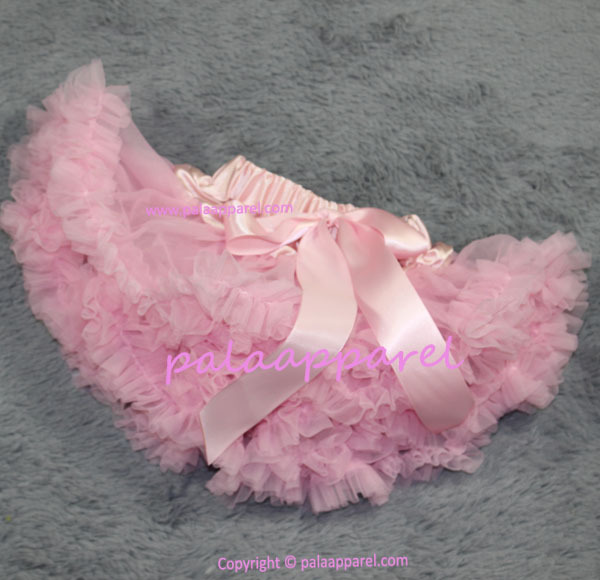 Новорожденный фотографии реквизит ребенка юбка для девочек юбки Pettiskirts шифоновое летнее одежда для малышей - Цвет: Розовый