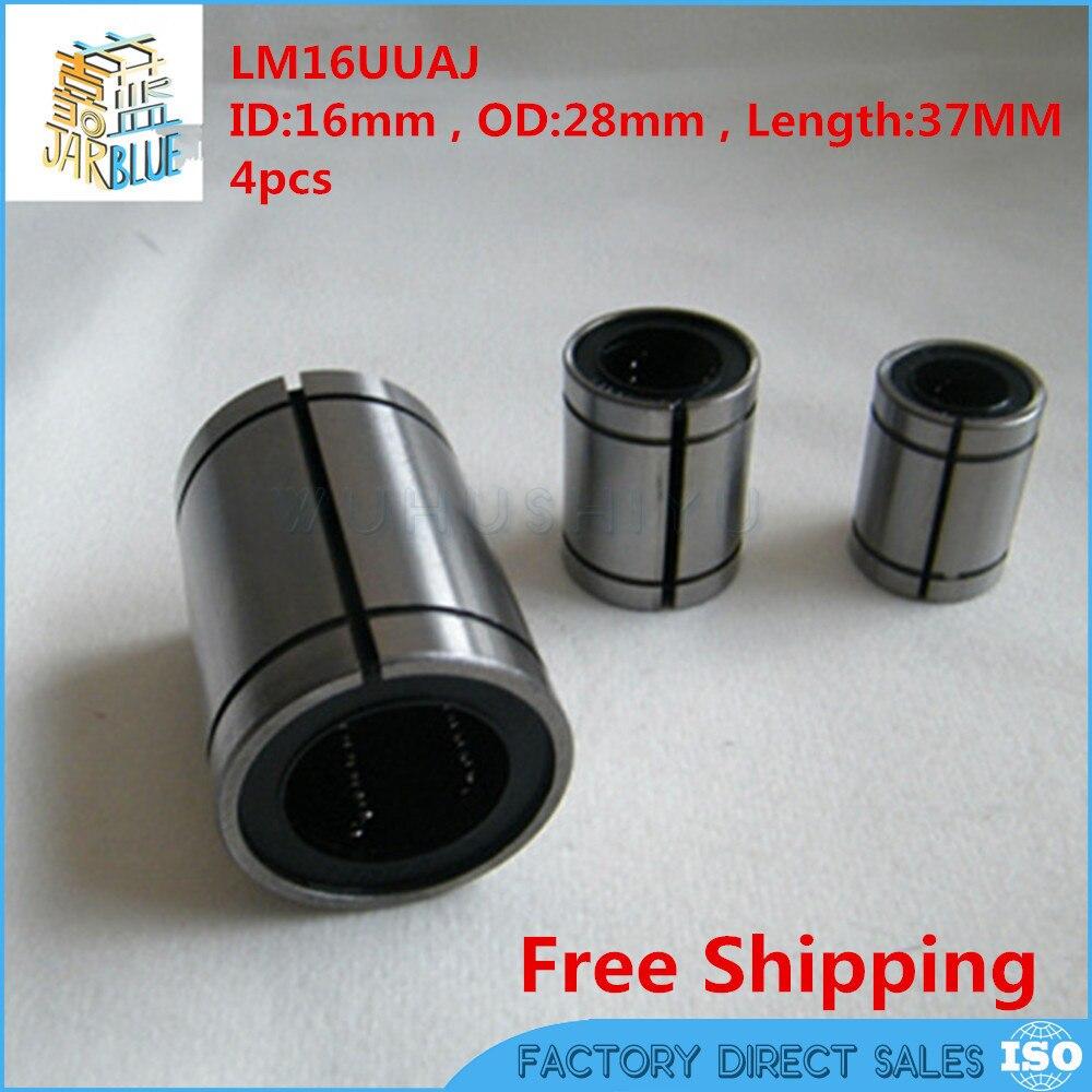 10pcs LM8UUAJ 8mm Adjustable AJ type Linear Ball Bearing Bushing 8x15x24 mm