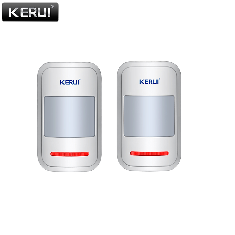 KERUI 433mhz Sensor Wireless PIR Motion Detector For GSM PSTN Home Security Burglar Alarm System Home Protection 433mhz wireless water level detector sensor for pstn gsm alarm system for gsm home burglar security alarm system free shipping