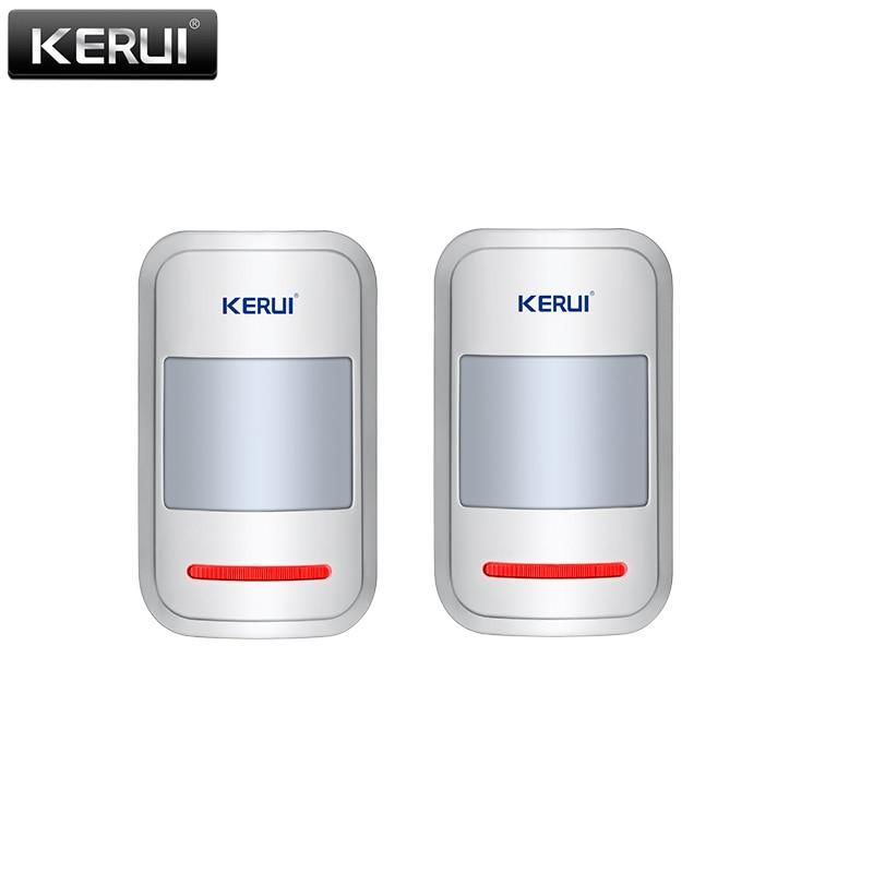 KERUI 433mhz Sensor Wireless  PIR Motion Detector For GSM PSTN Home Security Burglar Alarm System Home Protection