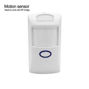 Image 4 - Sonoff RF puente Wifi convertidor 433MHZ Sensor de movimiento PIR Detector inalámbrico control remoto en casa controlador compatible con IOS Android