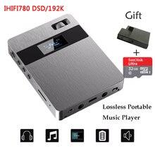 2017 Nueva XUELIN IHIFI780 DSD64 Audio Sin Pérdidas de ALTA FIDELIDAD Reproductor de Música Portátil 192 KHz Alta Calidad Mini Sport MP3 Player + 32G TF Tarjeta