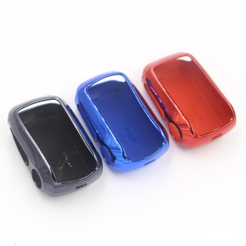 Starline A92 TPU Case Keychain For Starline A92 A94 A62 A64 Lcd Remote Two Way Car Alarm System Free Shipping