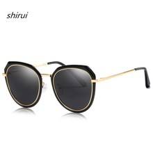 2019 High Quality Ladies Vintage Polarized Sunglasses for Women Classic Brand Oculos Feminino Shades Female Retro Sun Glasses все цены