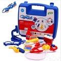 Nuevos niños Juegos de imaginación Juguetes/Kits Médicos/Bolso de Doctor Playsets para niños y niñas conjunto de juguete de Aprendizaje y La Educación/Juguetes Médico